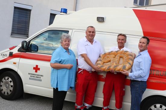 Franz Weingartner auf den Tag genau 50 Jahre aktiv im Rettungsdienst