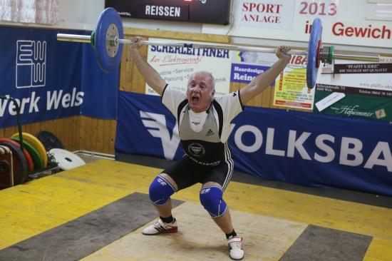 ESV Wels-Gewichtheber zeigten bei Clubmeisterschaft tolle Leistungen