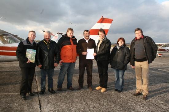 BZÖ-Landessprecher Widmann fordert den Erhalt des Welser Flugplatzes
