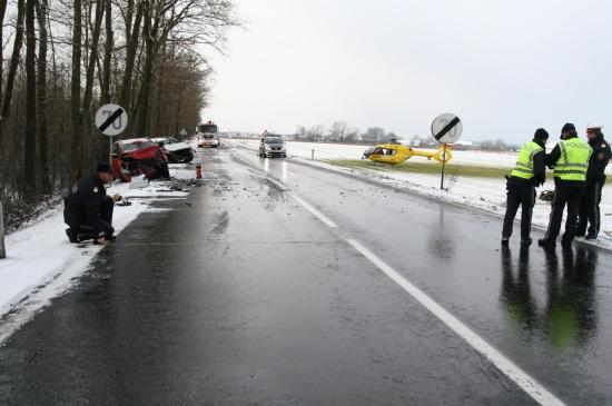 Schwerer Unfall in Gunskirchen
