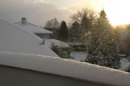 Winterwetter bleibt uns erhalten