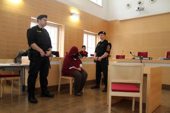 Prozess nach Raubmord an 77-Jähriger am Landesgericht Wels