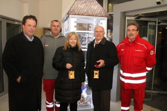Neustädter Kripperlroas führte zur Ortsstelle des Roten Kreuzes