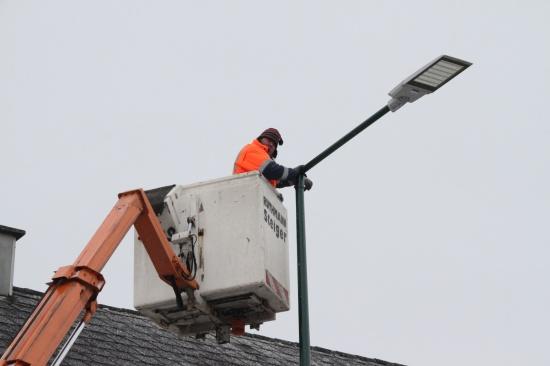 Großteil der alten Holzlichtmasten bereits ausgetauscht