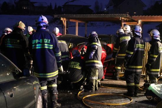 Schwerer Verkehrsunfall in Offenhausen