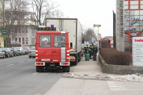 Dieselspur durch Wels gezogen