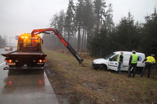 Autobahnsperre nach Verkehrsunfall