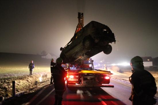 Schwerer Verkehrsunfall in Grieskirchen