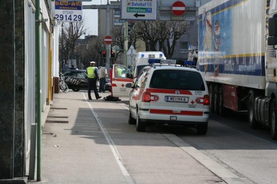 Verkehrsunfall mit Radfahrer
