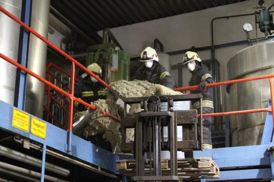 Erneuter Einsatz bei Industriehilfsstoffe-Hersteller in Marchtrenk