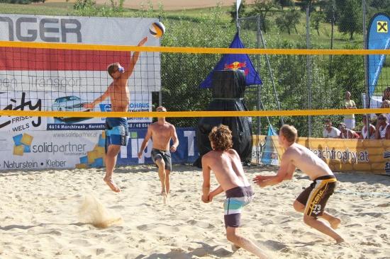 Spannendes Finale der Beachtrophy in St. Marienkirchen an der Polsenz