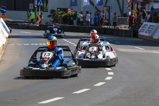 KartGrandPrix in der Welser Innenstadt zu Maria Himmelfahrt