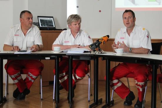 Pressegespräch Rotes Kreuz Wels
