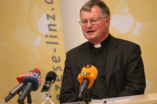Manfred Scheuer zum neuen Bischof der Diözese Linz ernannt