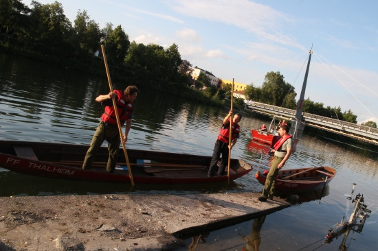 Zillenwettbewerb und Halbjahresbilanz der Feuerwehr Thalheim bei Wels