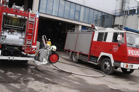 Brand in der Sortierung der AVE rasch gelöscht