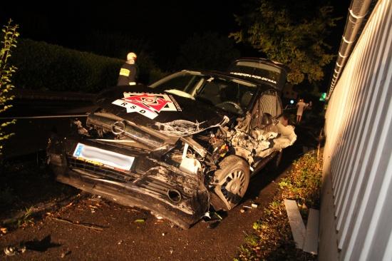Verkehrsunfall in Schleißheim