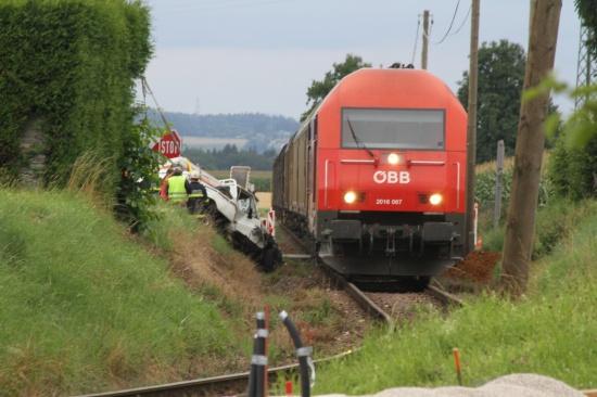 Zusammenstoß mit Güterzug endete glimpflich