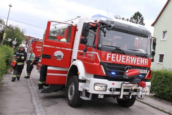 Brand in Mehrparteienhaus-Wohnung rechtzeitig entdeckt