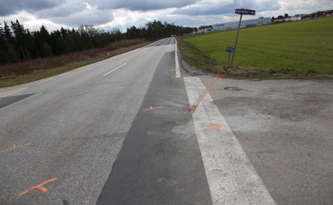 Schwerer Verkehrsunfall in Gunskirchen fordert vier Verletzte