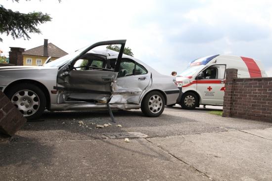 Schwerer Verkehrsunfall in Steinerkirchen an der Traun