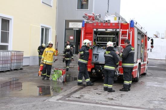 Brand bei Fettwarenhersteller in Wels