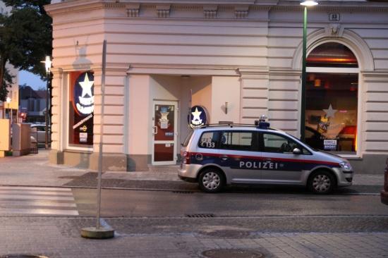 Überfall auf Wettlokal in Welser Innenstadt