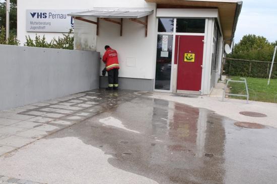 Wasserhahn löst Feuerwehreinsatz aus