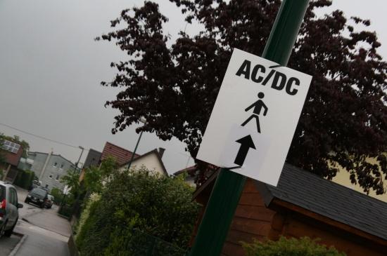 Wels wartet auf den Ansturm der AC/DC Fans