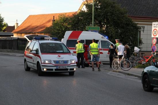 Radfahrerin verletzte sich bei Sturz schwer