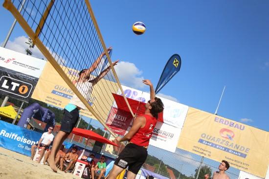Spannender letzter Spieltag der heurigen Beachtrophy in St. Marienkirchen an der Polsenz