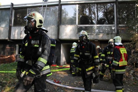 Feuerwehr Thalheim bei Wels hielt Übungstag ab