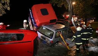 Spannend gestaltetes Unfallszenario bei Einsatzübung in Sattledt