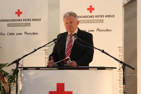 Neue Dienststelle des Roten Kreuzes in Marchtrenk eröffnet