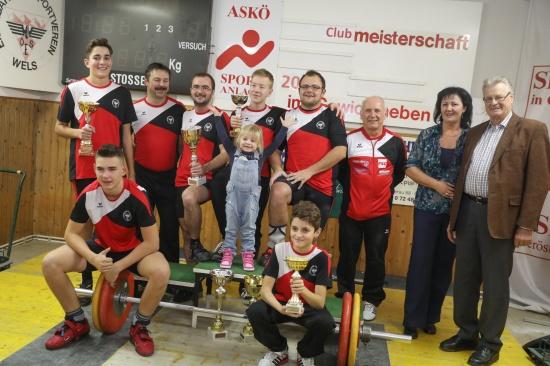 Spannende Clubmeisterschaft der Gewichtheber des ESV Wels