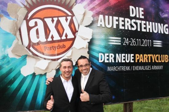 jaxx! Partyclub eröffnet am 24. November in Marchtrenk