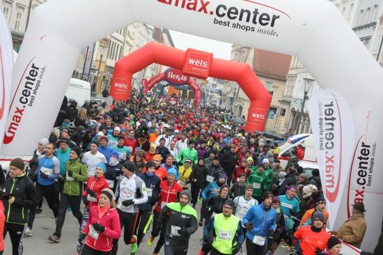 11. Silvesterlauf zum Jahresabschluss in der Welser Innenstadt