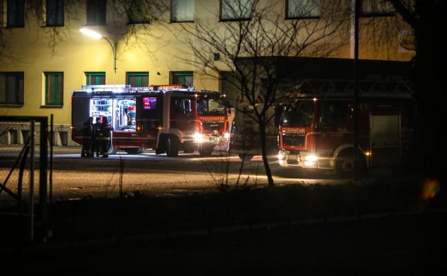 Kabelbrand in einem Industriebetrieb in Wels sorgte für Einsatz der Feuerwehr