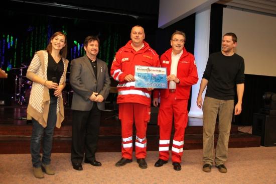 Freie Christengemeinde überreichte Spende an das Rote Kreuz Wels