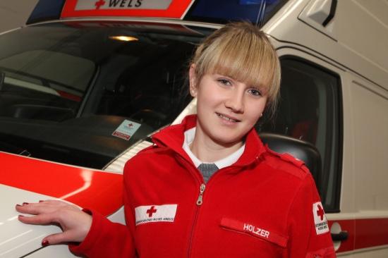 Frauenpower im Rettungsdienst beim Roten Kreuz Wels