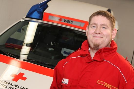 Stefan Buder neuer Rot-Kreuz-Offizier für Wels