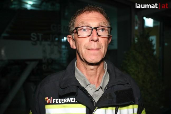 Josef Kaiser, Bezirksfeuerwehrkommandant Braunau am Inn