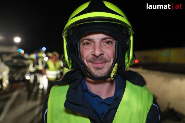 Mario Steininger, Einsatzleiter Feuerwehr Nettingsdorf
