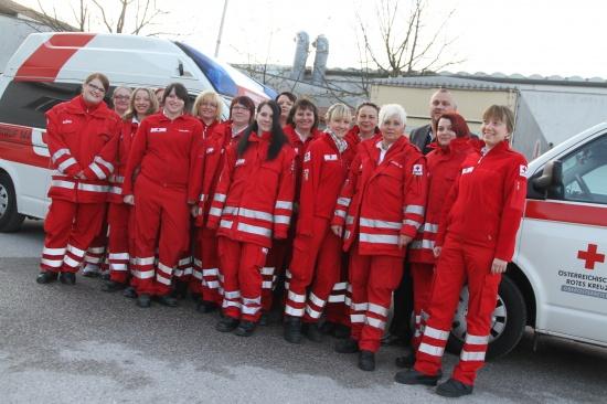 Einsatzreicher Girlsday beim Roten Kreuz Wels