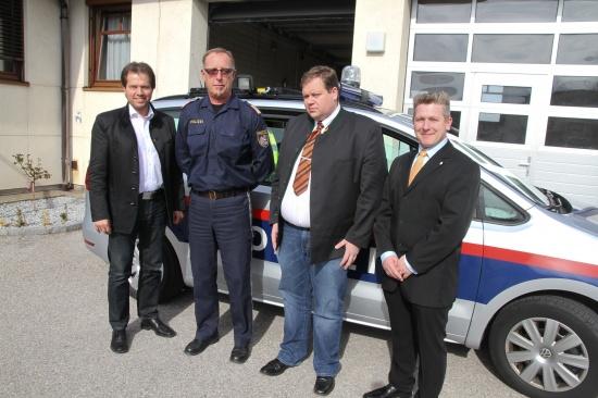 BZÖ-Landessprecher Widmann überreichte Welser Einsatzorganisationen Ostergrüße