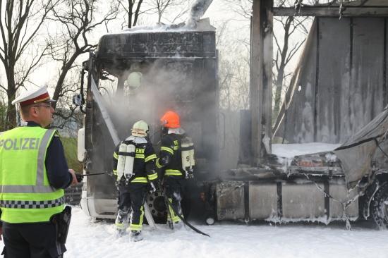 150.000 Euro-Betrug durch LKW-Brand gescheitert