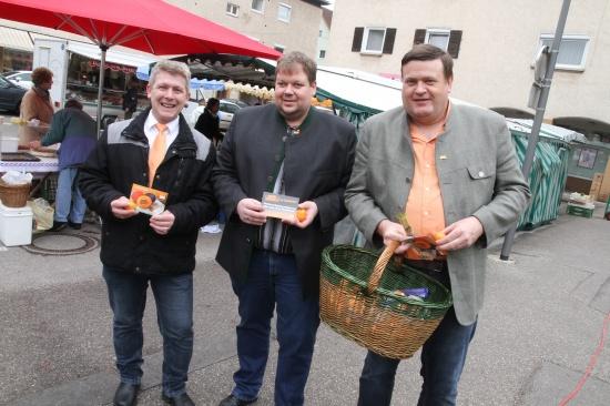 BZÖ Wels-Stadt verteilt Ostergrüße an die Welserinnen und Welser